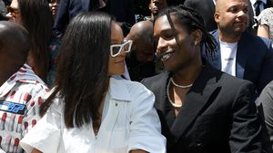 Beim Bummeln: Rihanna und A$AP Rocky halten Händchen