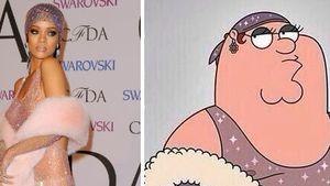 """Family Guy""-Peter kopiert Rihannas Nackt-Kleid"