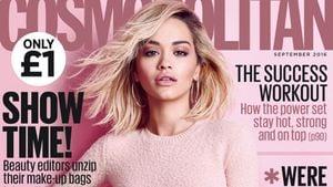 Rita Ora auf dem Cover der UK-Cosmopolitan September 2016