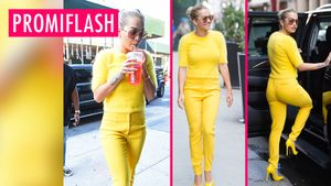 Rita Ora is yellow
