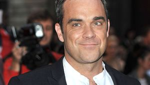 Süß! Töchterchen Teddy ist Robbie Williams' Anker