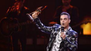 Robbie Williams mit seinem Bambi