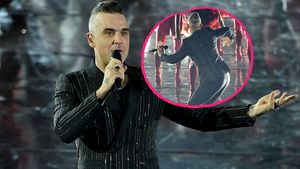 """Robbie Williams im """"X Factor""""-Finale: Der Hüftschwung sitzt!"""