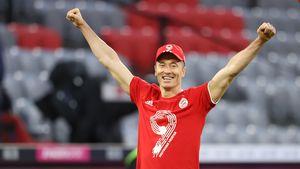 Nach Tor-Rekord: Robert Lewandowski ist Fußballer des Jahres
