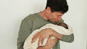 Das Warten hat ein Ende: Robert Lewandowskis Baby ist da