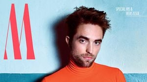 Orange meets Pink: Robert Pattinsons skurrilstes Cover?