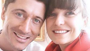 Süßes Liebes-Interview von Robert Lewandowski & seiner Anna!