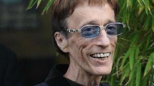 """""""Bee Gees""""-Star Robin Gibb ganz abgemagert!"""