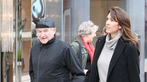 Robin Williams 2011 beim Spaziergang mit Susan Schneider Williams