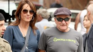 Susan Schneider und Robin Williams beim Shopping in New York im Oktober 2012