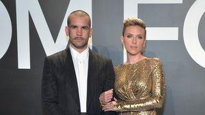 Romain Dauriac und Scarlett Johansson