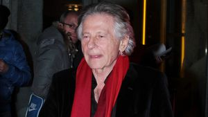 Regisseur Roman Polanski in Paris