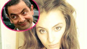 Schauspieler Rowan Atkinson und seine Tochter Lily