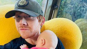 Vater-Tochter-Foto: Rupert Grint verrät Namen seines Babys
