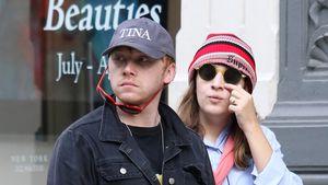 Rupert Grint mit Freundin und Baby durch London unterwegs