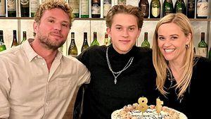 Seltenes Bild: Hier feiern Reese Witherspoon und ihr Ex Ryan