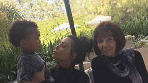 Saint West, Kim Kardashian und Mary Jo Campbell