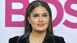 Für Film zugenommen: Salma Hayek wird Extrakilos nicht los