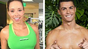 Samantha Clayton und Cristiano Ronaldo