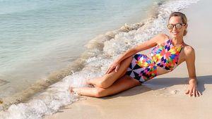Fitte Fünffach-Mutter: Sandy Meyer-Wölden zeigt Beachbody!