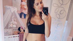 Neu-Mama Sarah Harrison: Vermisst sie ihren Pre-Baby-Body?