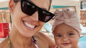 Sarah Harrison postet zauberhaftes Grinse-Foto mit Kyla