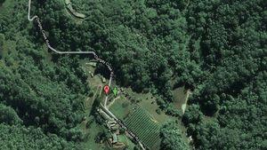"""So sieht das """"Dschungel""""-Camp aus dem All aus"""