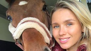 Marco Reus' Liebste Scarlett reitet während Schwangerschaft