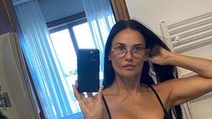 Uh là là! So knackig sieht Demi Moore (58) im Bikini aus
