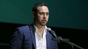 Scooter Braun beim Zimmer Children's Museum Discovery Award Dinner
