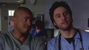 "Donald Faison und Zach Braff in ""Scrubs"""