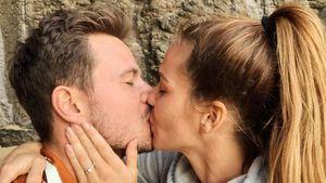 """""""Glücklichster Mann"""": Basti & Angelinas Verlobung jährt sich"""