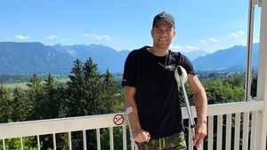 15 Kilo verloren: Sebastian Preuss hatte neun Knochenbrüche