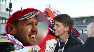 Erkannt? Das ist Sebastian Vettels Bruder Fabian!