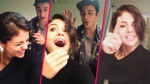 Selena Gomez kann wieder lachen!