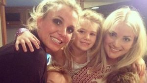 Britney Spears, Sean Preston Federline, Jayden James Federline, Jamie Lynn Spears und Maddie Briann