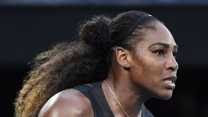 Serena Williams bei den Australian Open