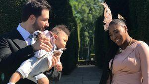 Mit Baby Alexis: So feierte Serena Williams Royal-Wedding