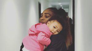 Serena Williams hält es keinen Tag ohne ihre Tochter aus
