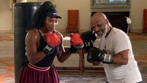 Sportlich: Serena Williams nimmt Boxstunden bei Mike Tyson