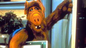Serienfigur ALF in einer Szene der TV-Show aus dem Jahr 1985