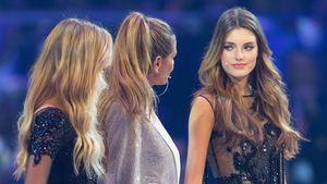 Serlina, Heidi Klum und Céline beim GNTM-Finale