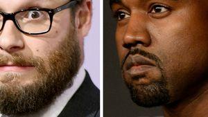 Kanye West und Seth Rogen