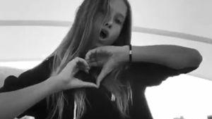 Bauchfrei & selbstbewusst: Shania Geiss (13) auf musical.ly!