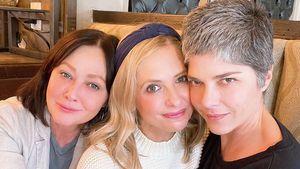 Stark! Shannen Doherty und Selma Blair machen Mut-Selfie