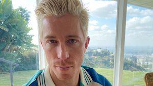 Ungewohnt: Shaun White zeigt sich mit blonder Haarpracht!