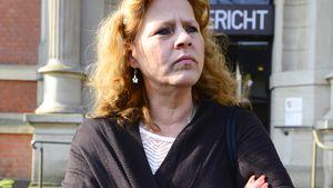 Siliva Wollny vor dem Amtsgericht in Neuss