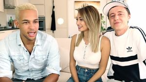 Simon Desue, Paola Maria und Sascha, YouTube-Stars