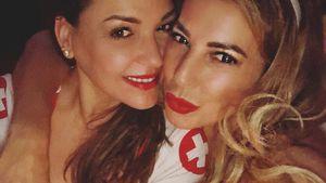 Sexy Karneval: Giulia Siegel als heiße Krankenschwester!
