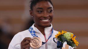 Olympia-Rückkehr: Simone Biles holt sich Bronze-Medaille